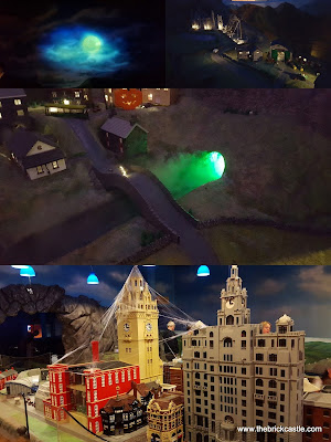 LEGOLAND DIscovery Centre Manchester Miniland Brick Or Treat Halloween review