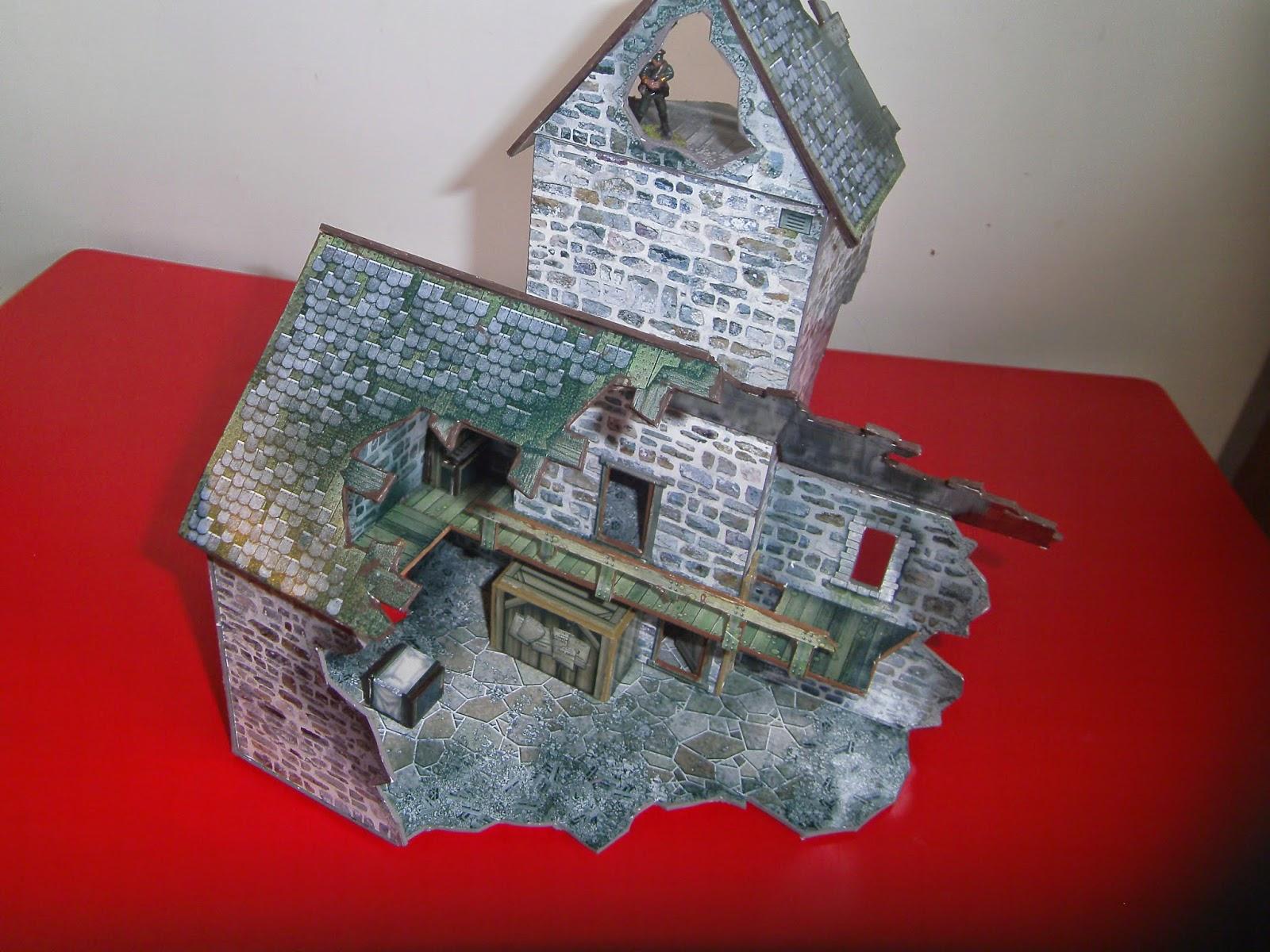 Republic-The Irish Civil War Game: Church Ruin From Dave Graffam models