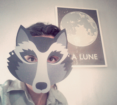 Z d i y sp cial peur du loup - Modele de loup a imprimer ...