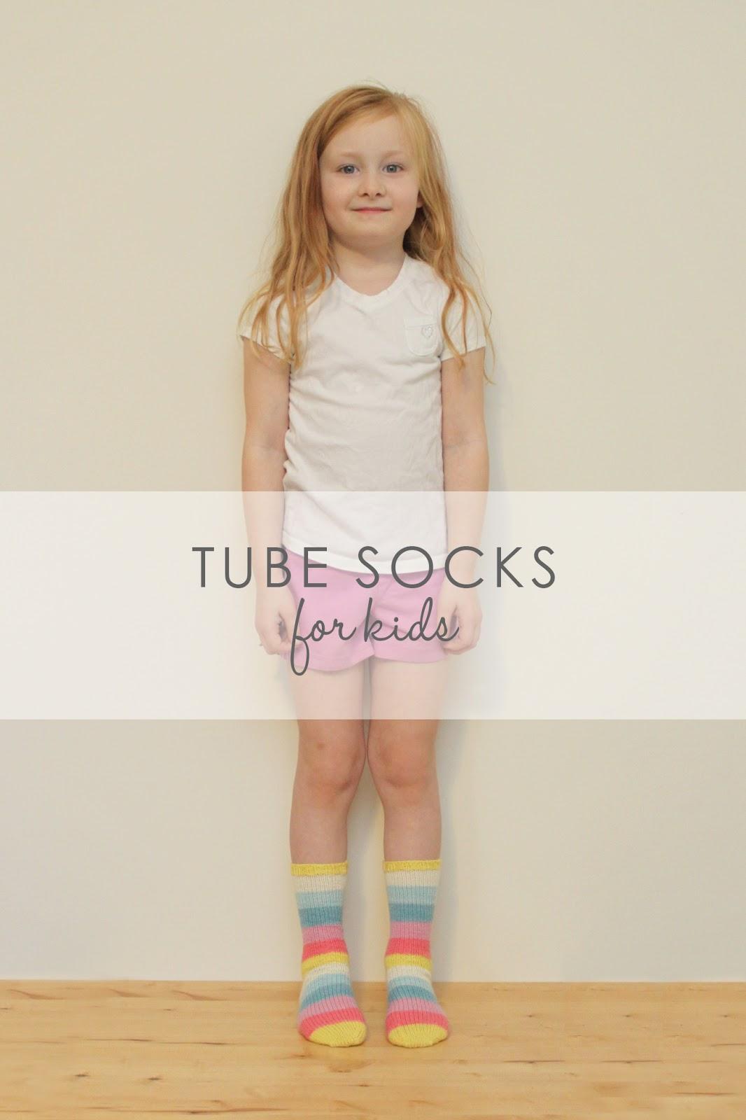 Jane Richmond Blog: NEW PATTERN || Tube Socks for Kids