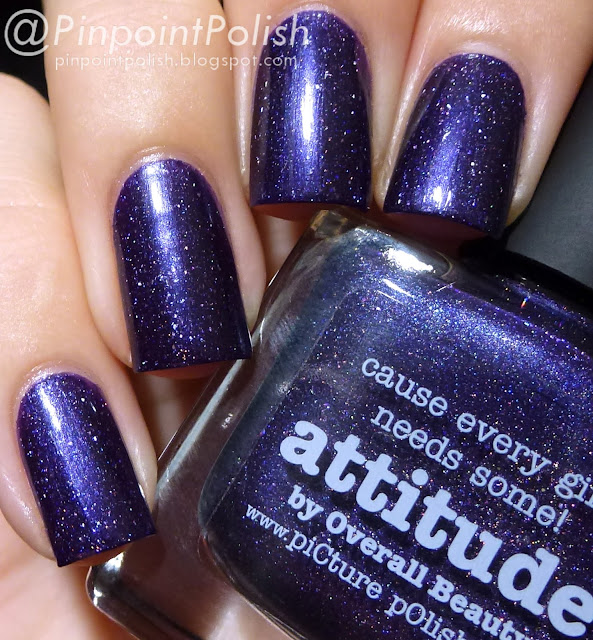 Attitude, Picture Polish, swatch