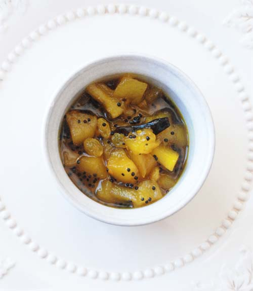 Anarosher Chutney Indian Spiced Pineapple Chutney Recipe ...