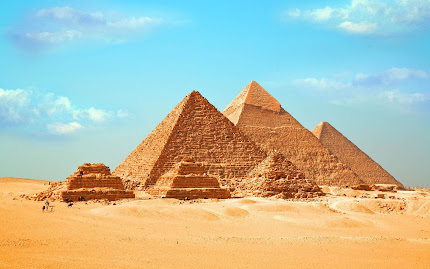 gambar piramida mesir, piramida giza