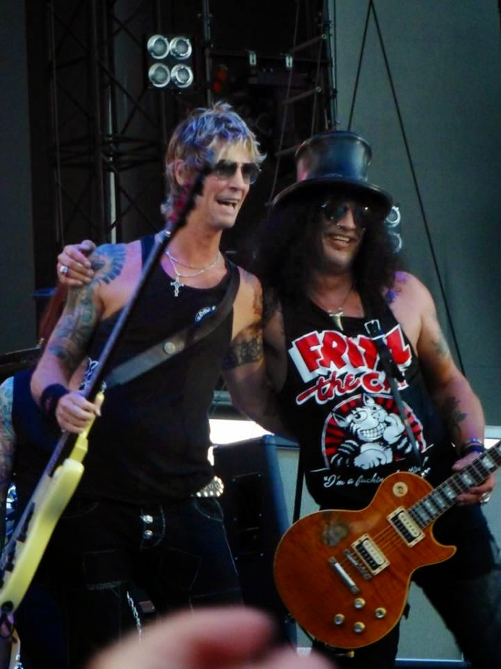 Slash - Duff McKagan - 2014