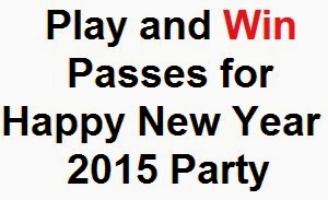 Liveinstyle.com: Win Happy new year 2015 party passes