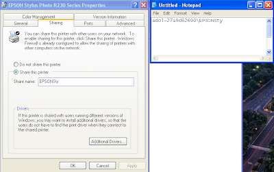 Cara share Printer dan sharing folder dengan mudah