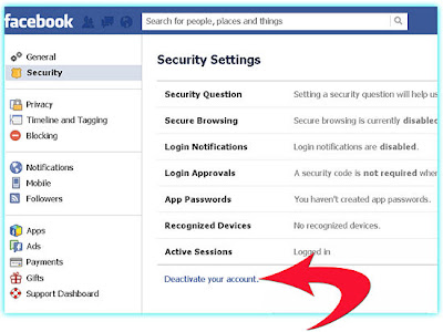 How to permanently delete your facebook account ccuart Image collections