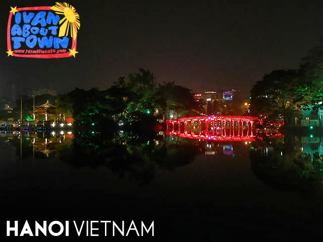 Hanoi, Vietnam: Huc Bridge, Ngoc Son Temple & Hoan Kiem Lake