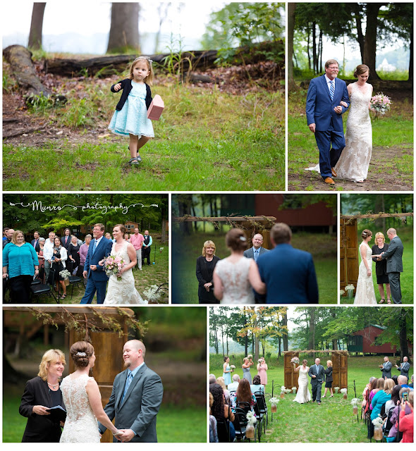 rustic vintage wedding michigan