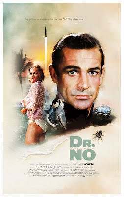 James Bond Poster movie Dr. No 007 okokno