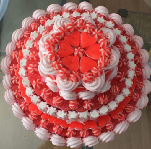 Como hacer un pastel de chucheríasLa buena estrella en tu mesa
