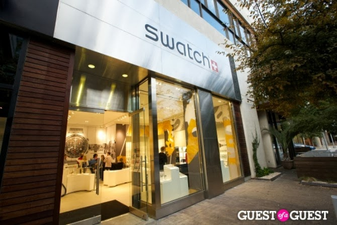 The Holland House: Swatch Storefront Austin