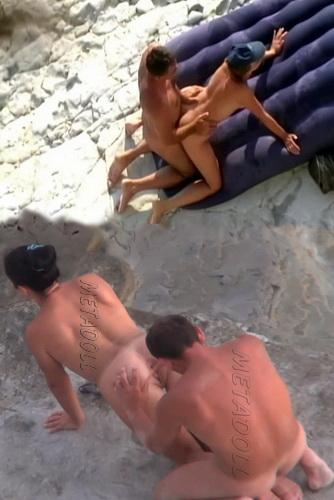BeachHunters Sex 16871-16895 (Amateur Sex on a Nudist Beach)