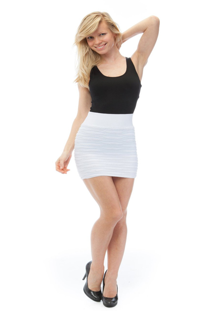 Black and White Classic Skirt and Top