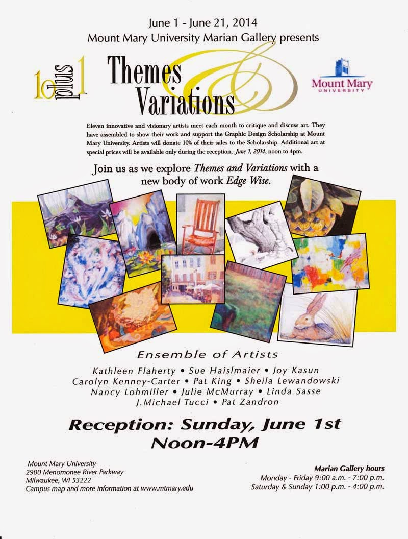 mount mary university marian gallery presents themes variation 6 1 21 14