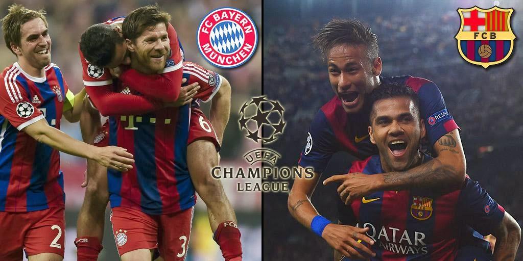 موعد وتوقيت مباراة بايرن ميونيخ و برشلونة في نصف نهائي دوري أبطال أوروبا || Barça v Bayern