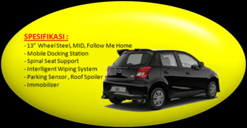 Spesifikasi Datsun Go Type T Option