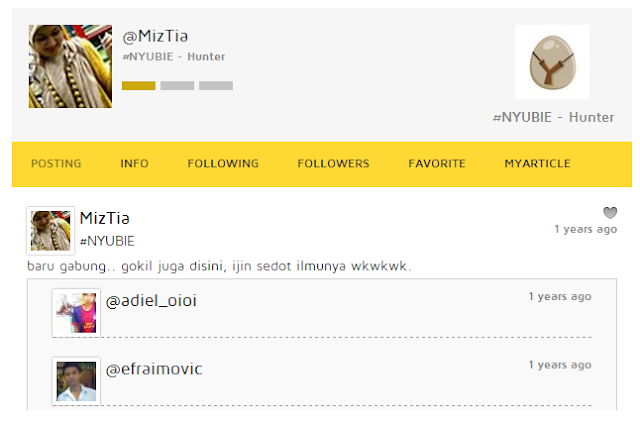 Follow @MizTia di Nyunyu