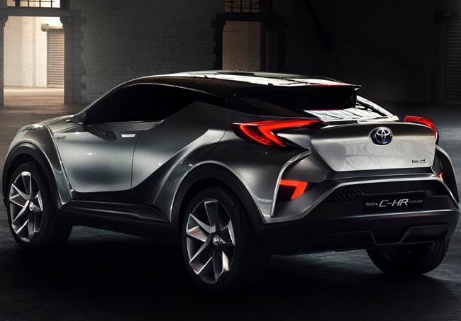 2016 Toyota C-HR Crossover Revealed At Geneva