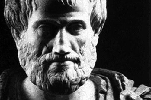 Μία ἀπό τάς ὡραιοτέρας φράσεις πού ἔχουν λεχθεῖ εἶναι  αὐτή τοῦ Ἀριστοτέλους