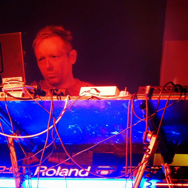 Martin Swan : Vile Electrodes live @ Electronic Circus Festival 2014 / photo S. Mazars