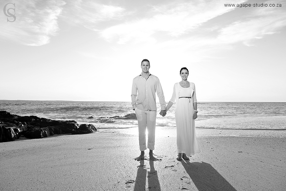 Bloubergstrand Engagement Shoot Ruhan And Sharon Cape