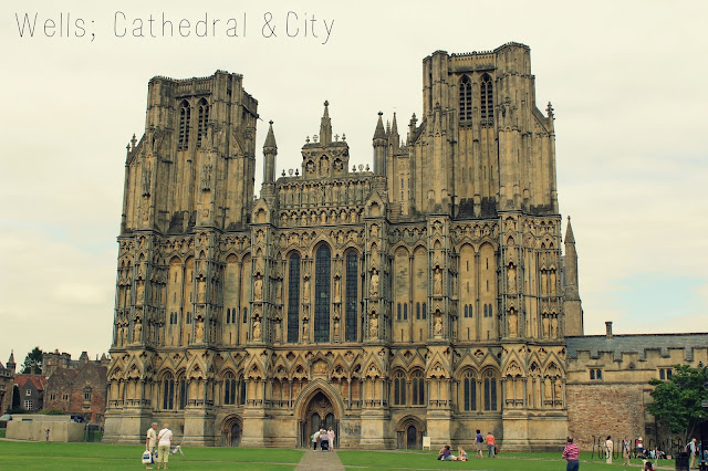 Wells; Cathedral & City // 76sunflowers