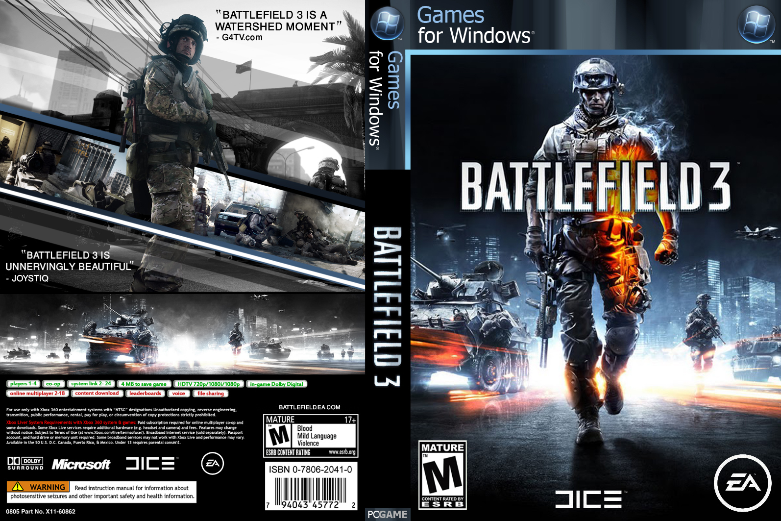 battlefield 3 game cover rh freegamecover blogspot com Battlefield Bad Company 2 PS3 Battlefield Bad Company 2 PS3