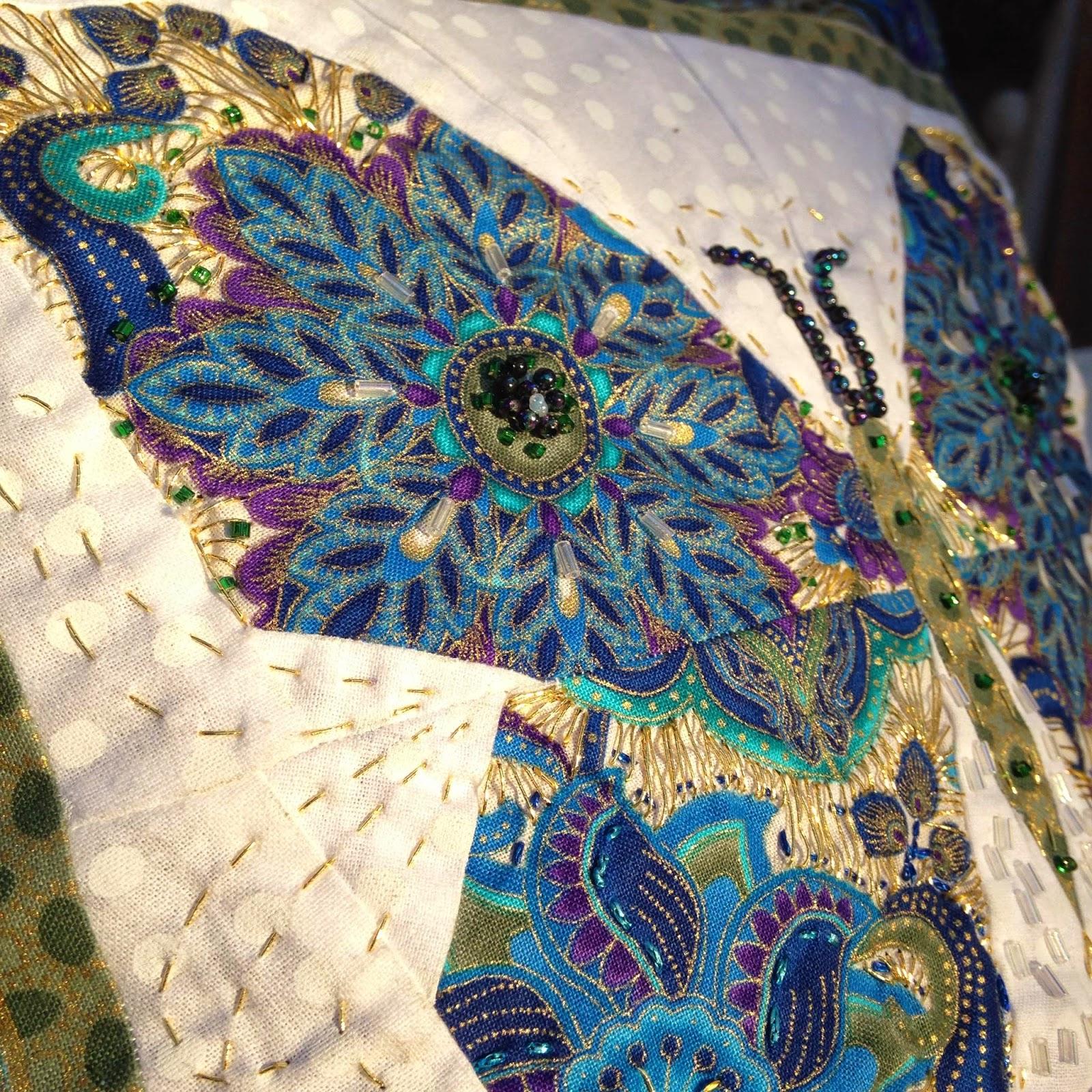 mudbird ceramics my paper pieced butterfly challenge
