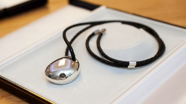 CSR Bluetooth Jewelry, CES 2014, high tech jewelry