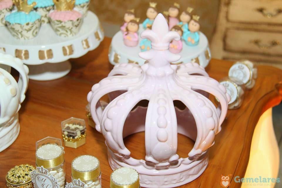 Aniversário Príncipe e Princesa - Gêmeos Miguel e Valentina