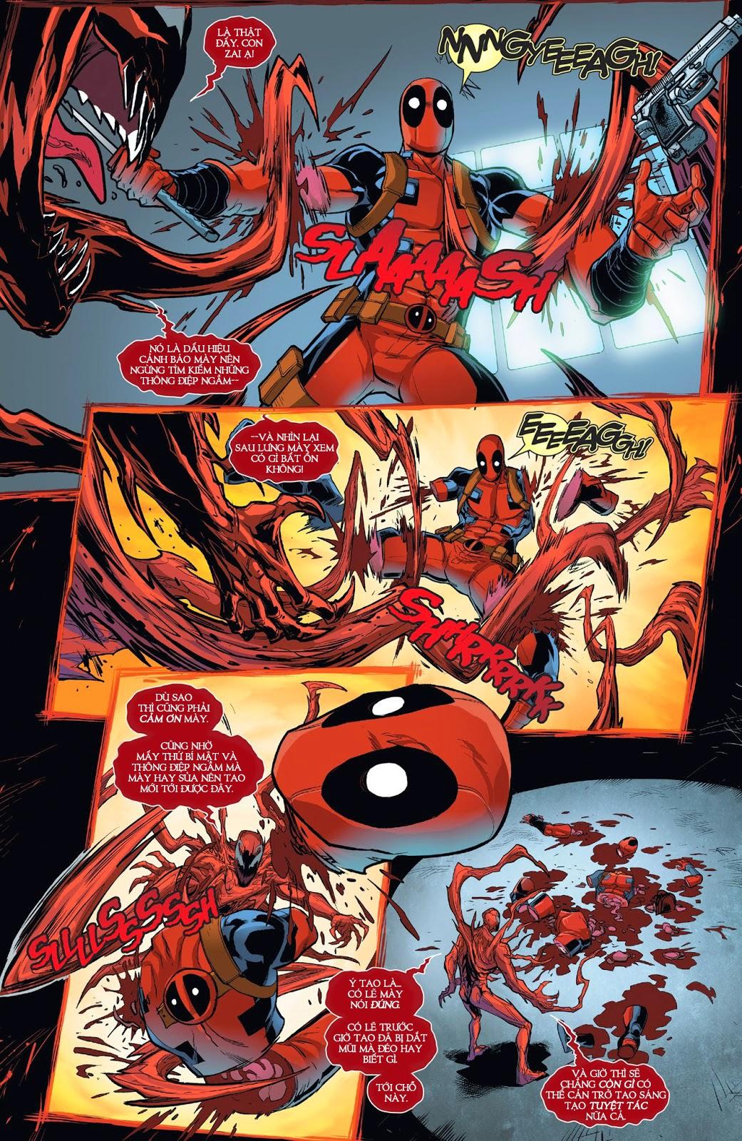Deadpool vs Carnage