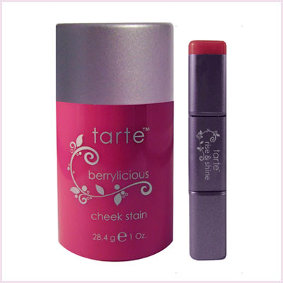 Tarte, Tarte Berry Couture Limited-Edition All Natural Stain Set, Tarte Berrylicious Cheek Stain, Tarte Berrylicious Lip Stain, Tarte lipgloss, Tarte blush, Tarte lip balm