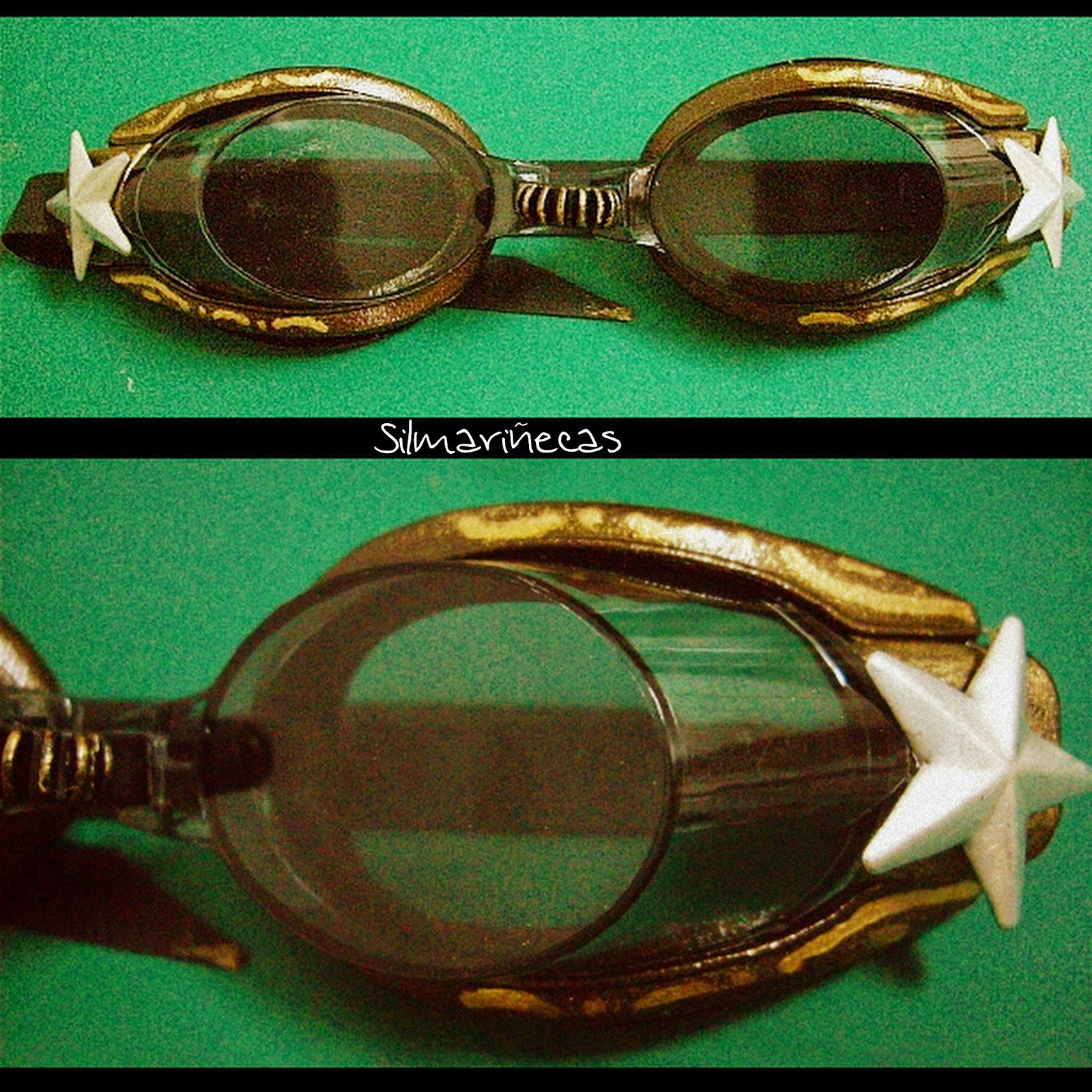diy cómo hacer gafas steampunk tutorial-