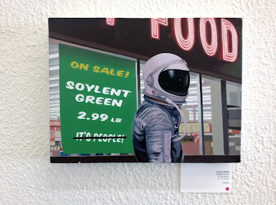 scott listfield gallery 1988 exhibit soylent green