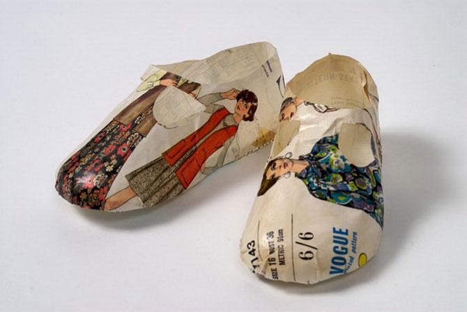 Objetos hechos con papel reciclado rinc n abstracto - Objetos de reciclaje ...