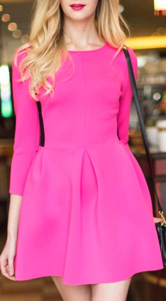 Pink Color Skirt