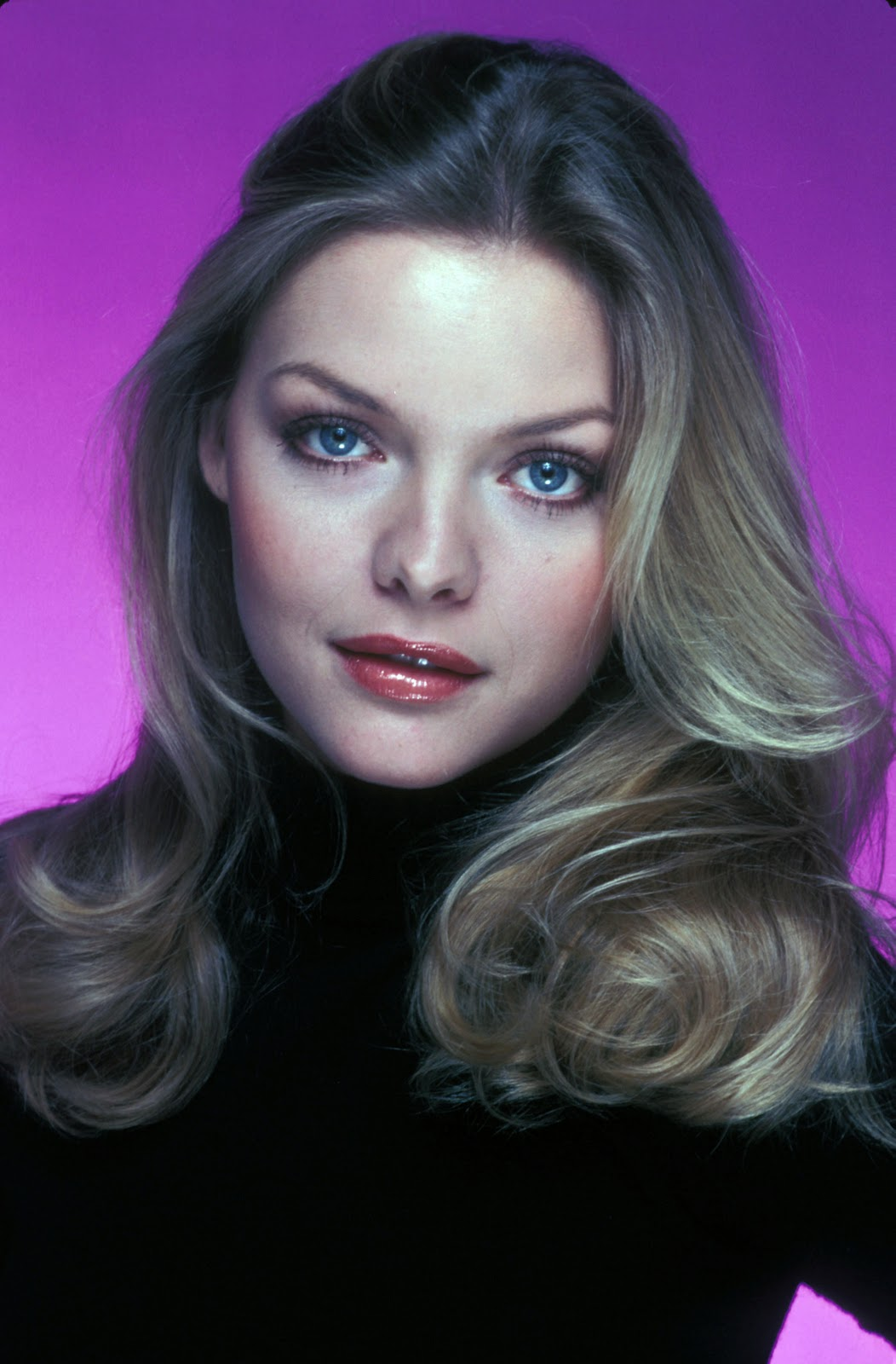 Young Celebrity Photo Gallery: Michelle Pfeiffer as Young Woman
