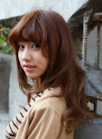 model+rambut+sebahu+(1) Kumpulan Model Rambut Sebahu Terbaru Trend 2013