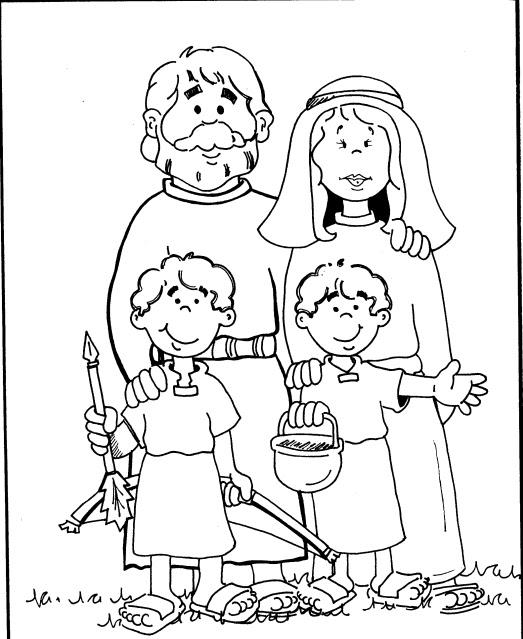 ♥ Maestra Dominical♥: Jacob y Esaú nacimiento