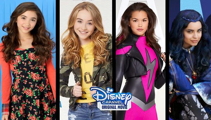 Disney Channel anuncia dos nuevas Películas Originales con Rowan Blanchard, Sabrina Carpenter, Sabrina Carpenter, Paris Berelc y Sofia Carson