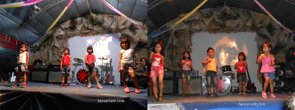 perform cilik dancer