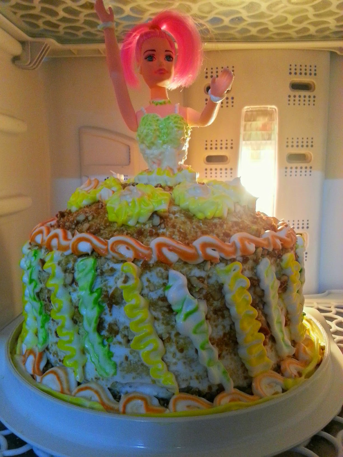 Flavour Basket Doll Cake