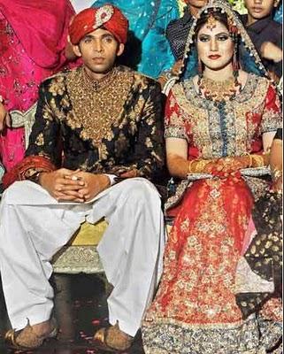 Pakistani Cricketers Wedding PiX