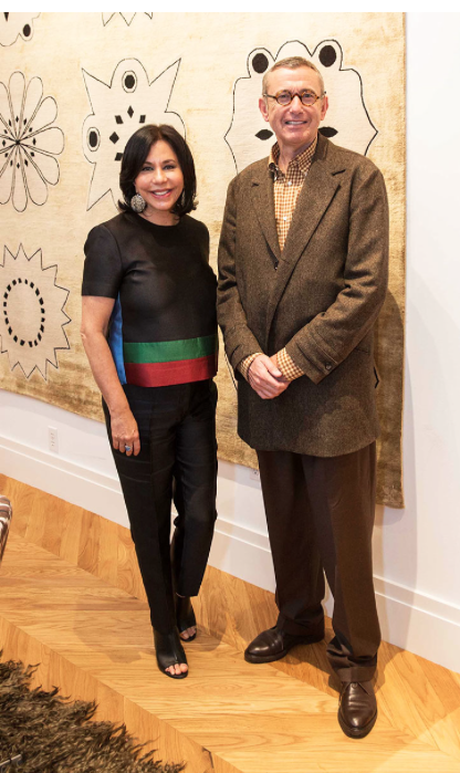 Out And About Madeline Weinrib Opening At Sfdc