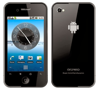 iPhone com Android - 580x525