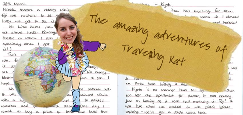 The amazing adventures of travelling Kat
