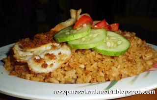 resep nasi goreng abon enak sederhana