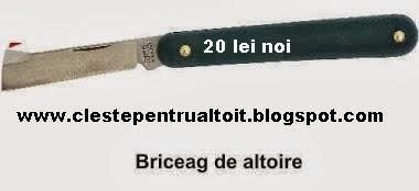 BRICEAG ALTOIT  DREPT CU SPATULA