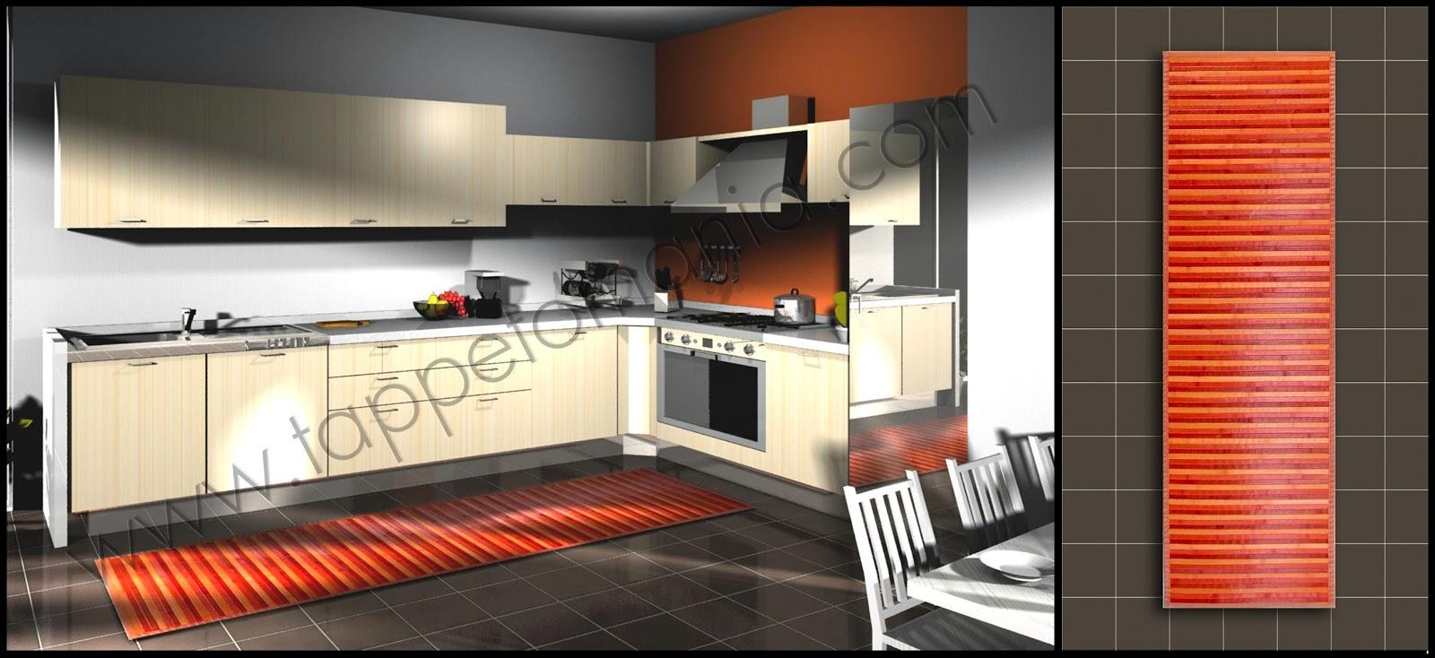 Prezzi outlet su tappetini tappeti da cucina tappetomania - Tappetini da cucina ...